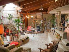 John Frank House | Architect: Bruce Goff (with John & Grace Lee Frank, the founders of Frankoma Pottery) | Sapulpa, Tulsa, Oklahoma - Via