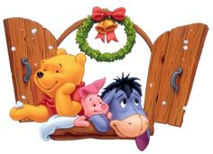Winnie the Pooh and Friends Wallpaper | Winnie The Pooh Christmas Wallpapers