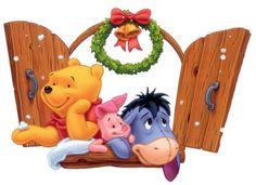 Christmas - Disney - Winnie-the-Pooh - Piglet & Eeyore