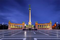 Andrássy út &  Heroes' Square (Hungary). 'Andrássy út, an  uberelegant leafy  boulevard stretching  2.5km, links Deák Ferenc  tér to the south with City  Park in the north and  contains so much to see. Along the way are  museums, cafes and  architectural marvels,  but perhaps its most  important sight comes at  the end. Heroes' Square,  the entrance to the park, is  the nation's monument to  its earliest ancestors and a war  memorial.' http://www.lonelyplanet.com/hungary/budapest