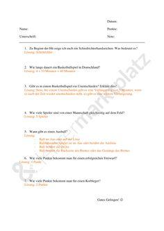 Regeln beim Volleyball – Sport   Sport Unterrichtsmaterialien ...