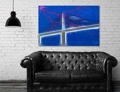 Discover «Skyway Fantasy», Limited Edition Canvas Print by Glink - From $75 - Curioos
