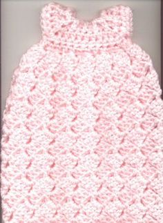 Newborn Burial Gown free crochet pattern