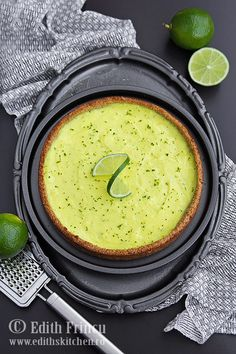 Tarta cu lime No Salt Recipes, Wine Recipes, Edith's Kitchen, Breakfast Dessert, Breakfast Ideas, Something Sweet, Goodies, Lime, Low Carb