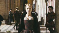 Image of Mary's Red & Black Dress for fans of Scarlett Johansson 21609218 Mary Boleyn, Anne Boleyn, Renaissance Wedding, Renaissance Dresses, 16th Century Fashion, The Other Boleyn Girl, Red Black Dress, Catherine Of Aragon, Woman Wine