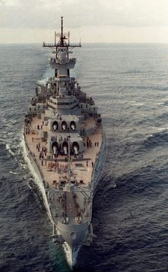 USS New Jersey underway                                                                                                                                                                                 More