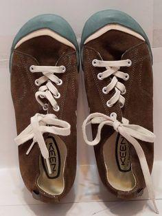 Keen Womens Size 8 Shoes Tennis Sneakers Brown Blue Toe EU 38.5 #KEEN #TennisSneakers