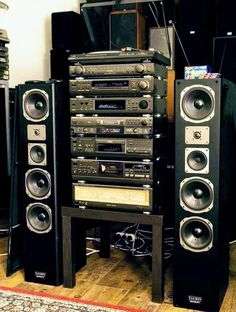 Technics Hifi, Technics Turntables, Audio Stand, Audio Rack, Hi Fi System, Sound Studio, Audio Design, Electronic, Hifi Audio