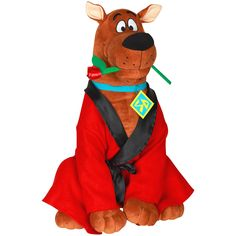 Licensed Large Plush Scooby Doo Valentine Greeter, 20in