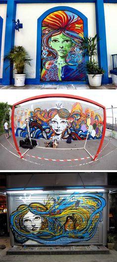 Conheça um pouco do trabalho do artista brasileiro Marcelo Mentque, há mais de 10 anos, deixa as ruas das cidades brasileiras mais bonitas.    ...