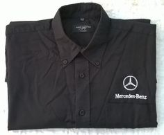 Chemise RUSSELL by JERZEES  / logo MERCEDES BENZ