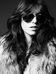 a63d0b2364e la modella mafia Grace Hartzel x Saint Laurent Pre-Fall 2014 photographed  by Hedi Slimane 14