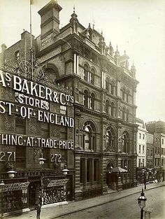 Inns of Court Hotel, 267 High Holborn, 31 May 1887.