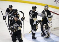 Tomas Vokoun celebrates an amazing shutout in Game 5 of the Eastern Conference Quarterfinals 5/9/13 against the NYI