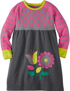 Spirits Bright Sweater Dress from Hanna Andersson