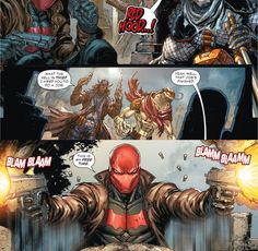 Deathstroke 17. Jason Todd. Red Hood.