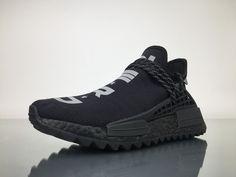 2a227801c Adidas Originals NMD Human Race Pharrell Williams All Black N·E·R·D