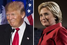 After the weekend's attacks, Clinton acted like a leader. Trump did not.