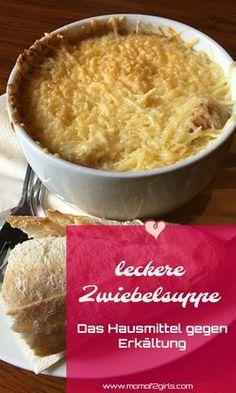 Zwiebelsuppe ist nicht nur einfach lecker und schnell zubereitet! Sie ist auch ein bewährtes Hausmittel gegen Erkältung. Also, wenn du die ersten Anzeichen von Halsschmerzen, Schnupfen oder Husten hast koche dir eine Zwiebelsuppe...