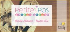 Petite Pas Ballet School in downtown Delafield opening September 2014 • Register Now • The Lake Country Mom