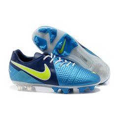 Nike CTR360 Maestri III FG Fußballschuhe Blau Fluo