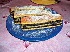 Skládaný makový koláč