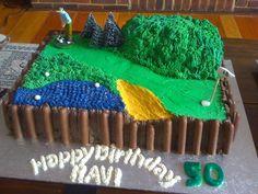 Ravi's 50th Birthday Cake