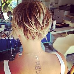 kaley cuoco short haircut photos | Kaley Cuoco's Short Pixie Hair!