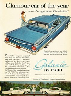 1959 Ford Galaxie advertisement