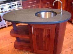 Image result for oval shaped kitchen islands
