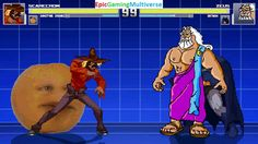 Zeus The God Of Thunder And Batman VS Scarecrow & Annoying Orange In A MUGEN Match / Battle / Fight This video showcases Gameplay of The Annoying Orange And Scarecrow The Supervillain VS Zeus The God Of Thunder From Hercules The Animated Series And Batman The Superhero In A MUGEN Match / Battle / Fight