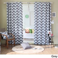 Fun curtains for the living room!
