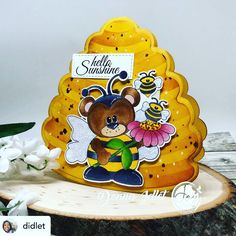 Posted @withregram • @didlet I'm featuring the @joyclairstamps Bumble Bear Digital stamp set.  Joy Clair Designs is celebrating the owners birthday you can get 20% off ALL digital and Clear Stamps use Code BIRTHDAY20.  Sale ends June 20th.  Link in my profile.  #joyclairstamps #joyclairdesigns #flowers #bumblebear #cardmaking #cardmaker #papercrafting #papercrafts #cardmakersofinstagram #handmadecards #diycards #inspirationcards #greetingcards #cardmakinghobby  #copics #cardmakingideas… Card Maker, Copics, Digital Stamps, Clear Stamps, Diy Cards, Cardmaking, June, Greeting Cards, Profile