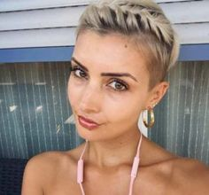 Image result for prom hairstyles for pixie cuts