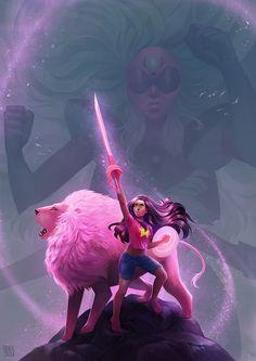 Steven Universe Fan Art - Created by Stef Tastan