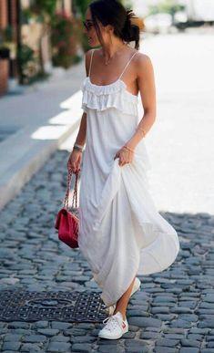 d5eef16dba Bo Mulder - White Dreamy Dress - Summer 2016 Sea of Bees NYC New York photo  by Marinke Davelaar