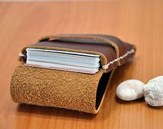 Popular items for business card holder on Etsy