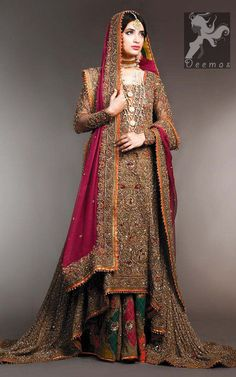 Latest Bridal Sharara Designs For Wedding Sharara Designs, Pakistani Wedding Outfits, Pakistani Wedding Dresses, Designer Wedding Dresses, Pakistani Mehndi Dress, Wedding Gowns, Asian Wedding Dress, Desi Wedding, New Bridal Dresses