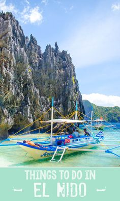 Things to do in El Nido ~El Nido Palawan Philippines just go and thank me later!