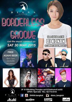 DIANA Bangkok Borderless Groove #Nightlife #Bangkok #Clublife