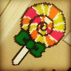 Lollipop perler beads by reginavllmr