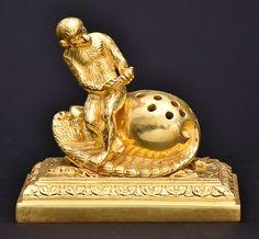 Excepcional paliteiro francês de coleção, do Séc. XIX, ..