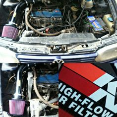 Cold Air Intake VW Golf 1.8  #lethalperformancearg  #knfilter Golf 1, Vw, Cold, Vehicles, Autos, Vehicle