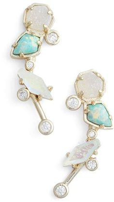Kendra Scott Trojan Ear Crawlers - how gorgeous! Definitely on the gift list (self-giving).