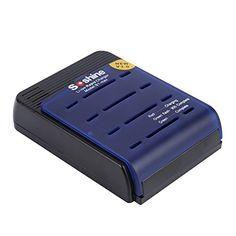 YKS 4Slots Smart Battery Charger with Car Charger For 14pcs 1750017650185001865018670 Liion battery *** More info could be found at the image url. (This is an affiliate link) #CellPhoneBattery