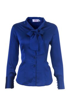 Blouse Blue | Fashion Ql