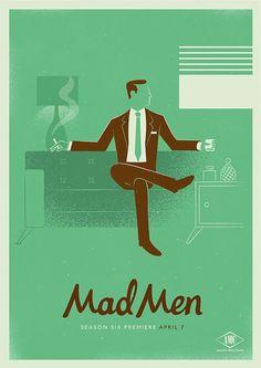 Mad Men-affischer från byrån Radio - CAP