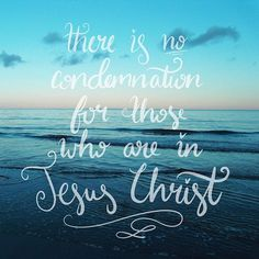 Day 7 ~ Therefore there is now no condemnation for those who are in Christ Jesus.  Romans 8:1  I am washed clean 😀  #letterthepromises #illustratedfaith #letteringhislove #christiancreative #moderncalligraphy #handlettering #lettering #letters #piclab #kaligrafina #scriptureart #goodnewsfeed #typegang #biblejournaling #bible #bibleverse #dailyquote #calligraphy #graphicdesign #illustration #jesus #typography #typographyinspired #thismakesmehappy #pursuepretty #vscocam #calligrabasics…