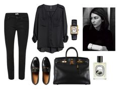 """""""..."""" by tomorrowsparties ❤ liked on Polyvore featuring Gucci, H&M, Hermès and Diptyque"""