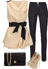 Channel bag-  Dress Casual Elegance